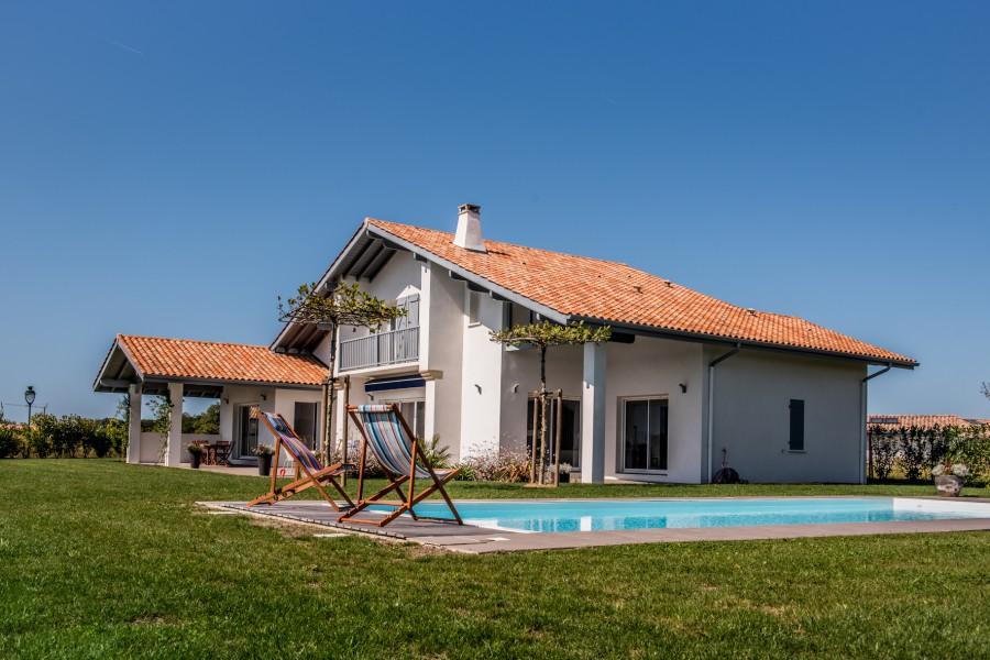 maisons contemporaines pays basque landes constructeur maisons iguski